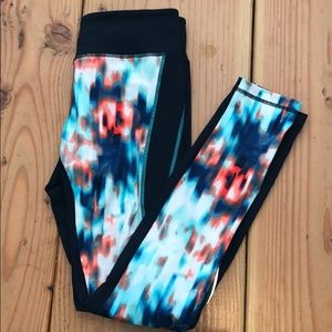Zella Patterned Running Leggings